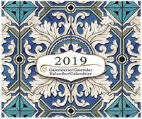 Calendario Azulejos de Portugal 2019