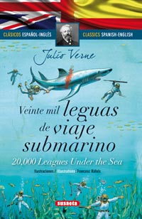 Veinte mil leguas de viaje submarino (español/inglés)