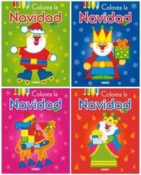 Colorea la Navidad (4 títulos)