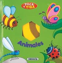 Animales, toca y tira