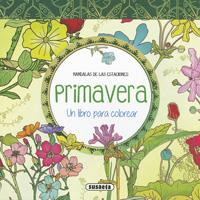 Primavera. Un libro para colorear