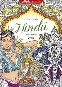Láminas de arte hindú para colorear