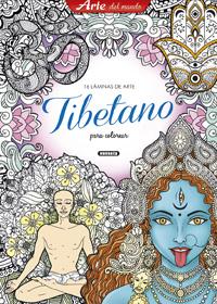 Láminas de arte tibetano para colorear