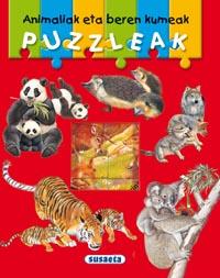 Animaliak eta beren kumeak puzzleak