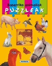 Baserriko animaliak puzzleak
