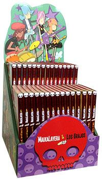 Expositor Maikalavera y los Grajos (30 ejemplares)