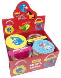Bebé - Muac, muac (2 títulos)