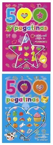 500 pegatinas (2 títulos)