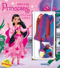 Viste a tus princesas con imanes brillantes con cuento de Aladin