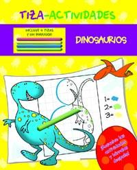 Tiza-actividades dinosaurios