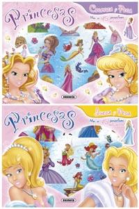 Juego y me divierto con princesas (2 títulos)