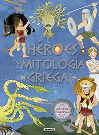 Héroes de la mitología griega con pegatinas