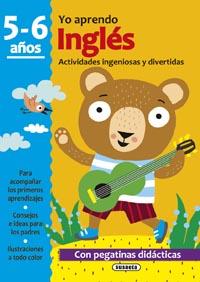 Inglés 5-6 años. Actividades ingeniosas y divertidas con pegatin