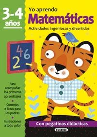 Matemáticas 3-4 años. Actividades ingeniosas y divertidas con pe