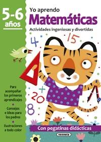 Matemáticas 5-6 años. Actividades ingeniosas y divertidas con pe