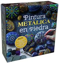 Pintura metálica en piedra