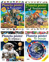 Planeta póster (4 títulos)