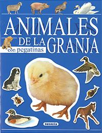 Animales de la granja con pegatinas