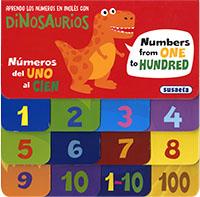 Aprendo los números en inglés con dinosaurios