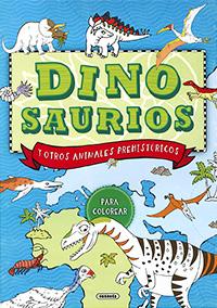 Dinosaurios y otros animales prehistóricos para colorear