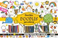 Divertidos doodles para colorear