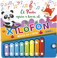 El panda aprèn a tocar el xilòfon