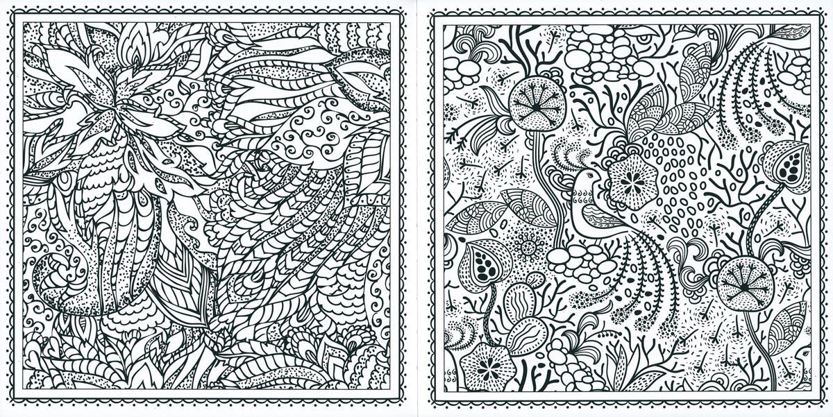 Mandalas y flores. Patrones para colorear, de (2014). Libro para ...