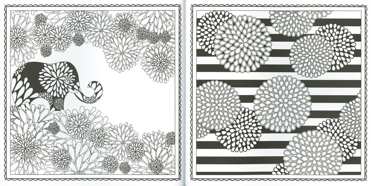 Jardín de mandalas. Patrones para colorear, de (2015). Libro para ...