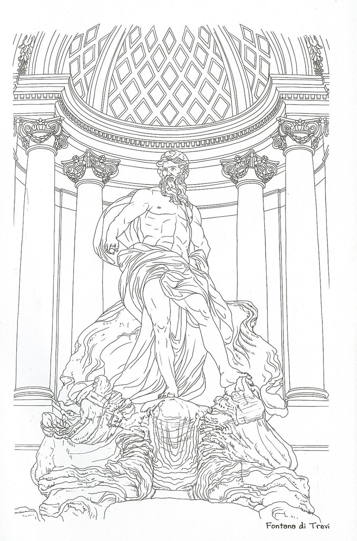 Roma para colorear, de (2016). Libro para niños de +16 años ...